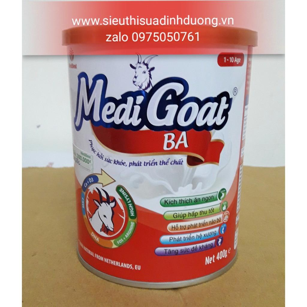 Sữa dê MediGoat Ba cho trẻ suy dinh dưỡng cần tăng cân 1-10 tuổi hộp 400g - 2984984 , 211322975 , 322_211322975 , 300000 , Sua-de-MediGoat-Ba-cho-tre-suy-dinh-duong-can-tang-can-1-10-tuoi-hop-400g-322_211322975 , shopee.vn , Sữa dê MediGoat Ba cho trẻ suy dinh dưỡng cần tăng cân 1-10 tuổi hộp 400g