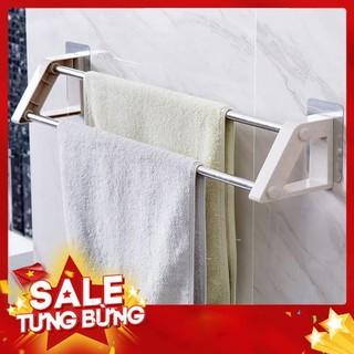 giá treo khăn 2 thanh tiện lợi cho nhà tắm – Siêu HOT