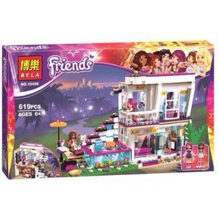 Bộ lego Friends 10498- Biệt thự Livi
