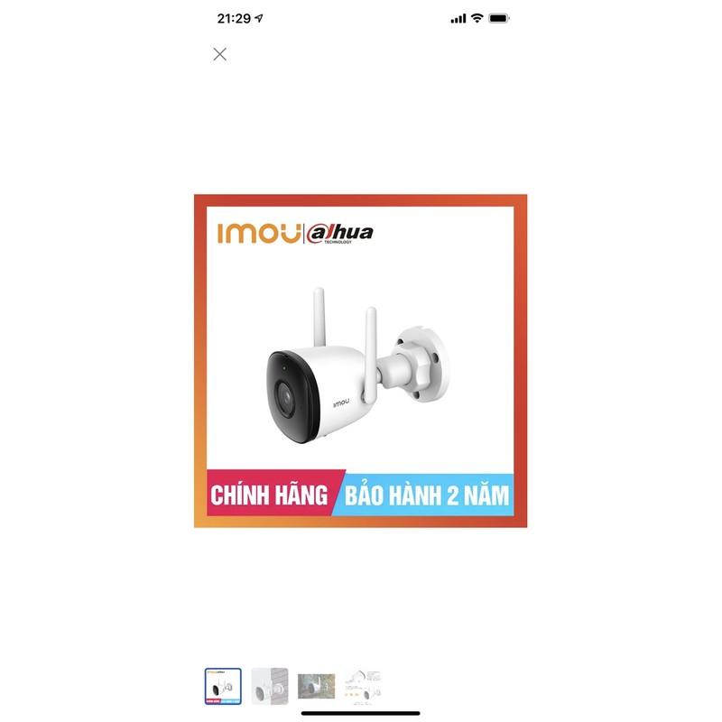 Combo Camera wifi không dây ngoài trời Imou F22EP 2.0Mp Full HD 1080P chính hãng Dahua DSS, kèm thẻ 32G