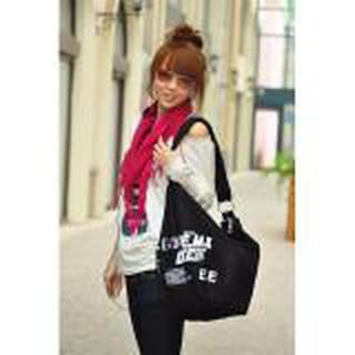 Túi Đeo Vải Bố Form Lớn CDTX29 Chodeal24h - đentúi đeo chéo nữ thumbnail