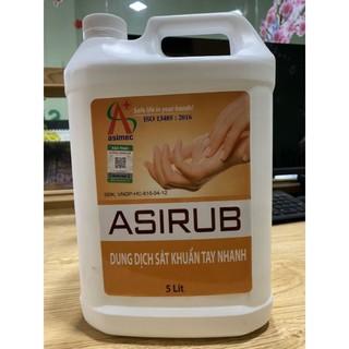 Nước rửa tay khô Asirub 5lit