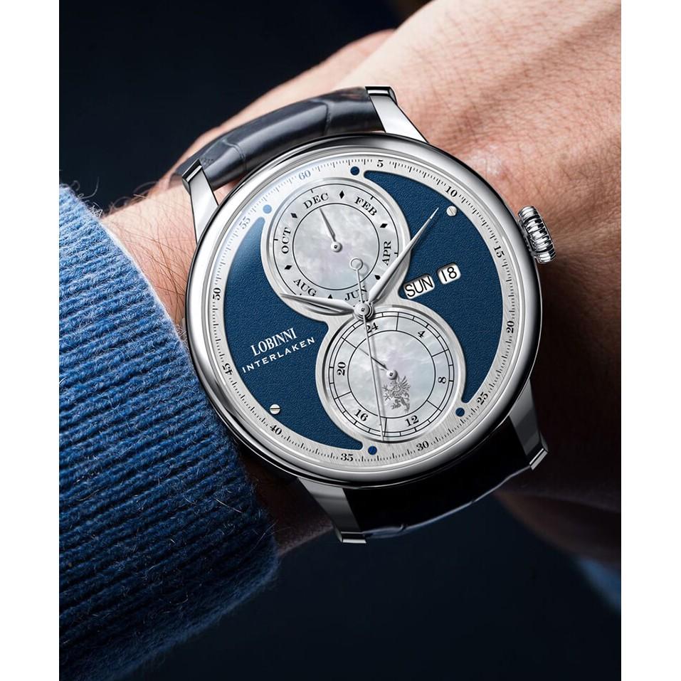 Đồng hồ nam chính hãng Lobinni No.18015-2