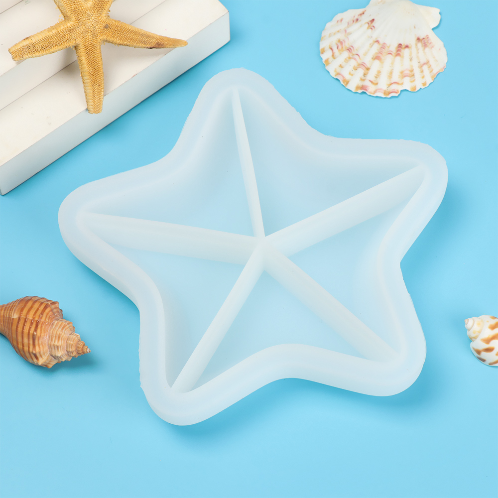 DAPHNE Table Decoration Storage Box Molds Jewelry Making Tool Shell Silicone Mould Starfish Conch Molds Handmade Tools DIY Epoxy Resin...