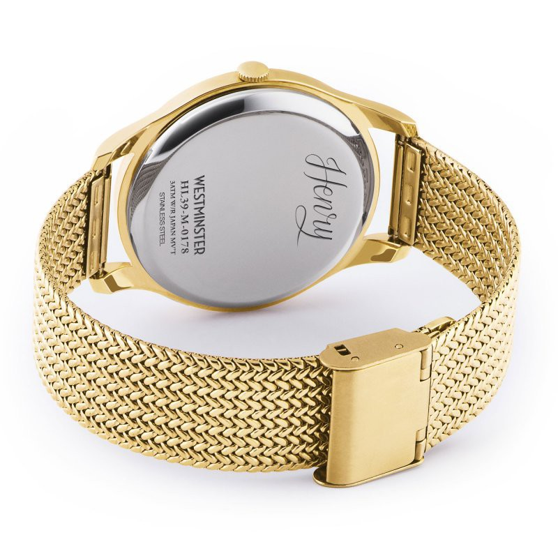 Đồng hồ nam Henry London HL39-M-0178 WESTMINSTER