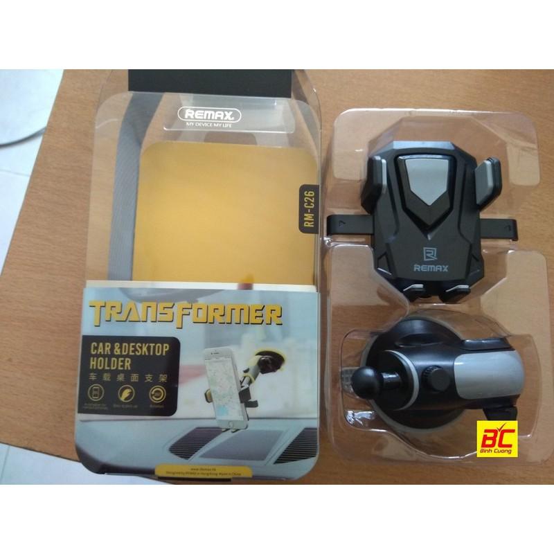 Giá đỡ điện thoại Remax RM-C26 Đen