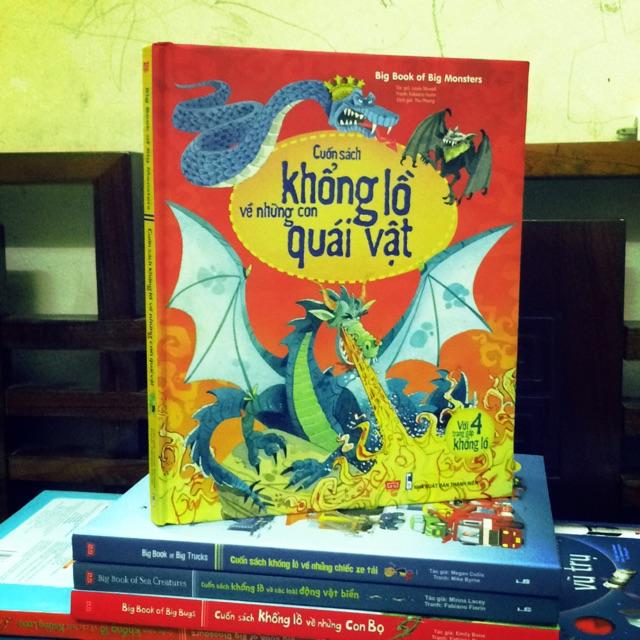 Big book - cuốn sách khổng lồ về những con quái vật ( giá bìa 150.000)