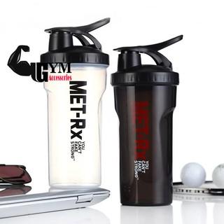 Bình lắc bình tập gym shake bottle Met-RX