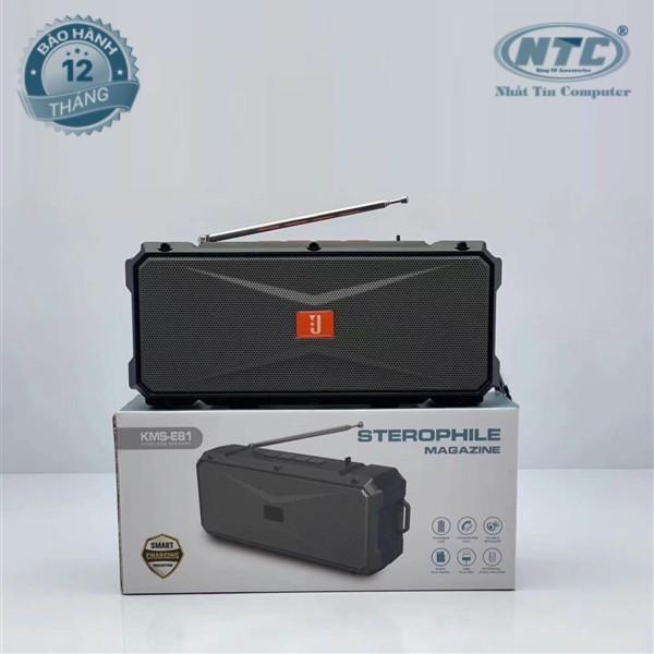 Loa bluetooth siêu trâu KIMISO KMS-E81 hỗ trợ FM/AUX/USB/TF/Mic - tích hợp anten (nhiều màu) Bảo hành 12 tháng