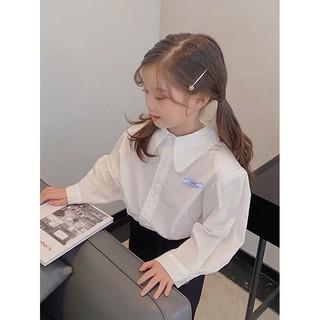 Áo sơ mi cao cấp cho bé gái phong cách Vintage_Hàng tuyển chọn cao cấp
