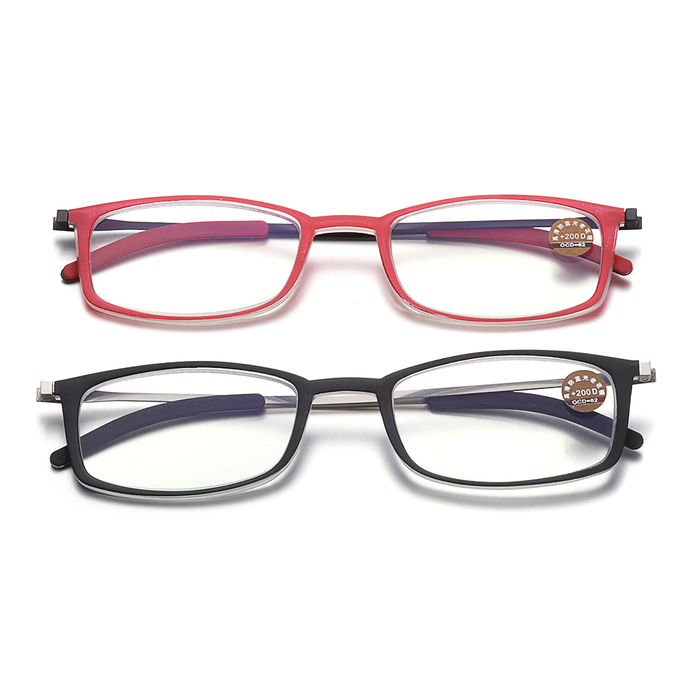 CLEVER Portable Diopters +1.5, +2.0, +2.5 Ultralight Paper Type Ultra-thin Reading Glasses