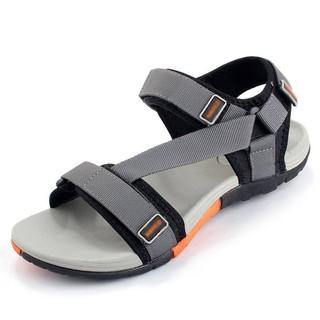 [Free Ship ] Giày Sandal Nam Vento Xuất Khẩu Nhật – Inb shop để chọn size ạ NV4538G Xám Đế Xám Cam