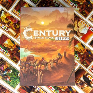 boardgame – Century Spice Road (tiếng Anh)
