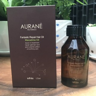 Tinh dầu dưỡng tóc SOFTLISS AURANE MACADAMIA HAIR OIL 125ml thumbnail