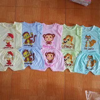 Set 5 bộ quần áo cộc tay carter cho bé, bộ cộc tay cho bé, bộ cảm xúc cho bé, quần áo cho bé, bộ quần áo cộc cho bé