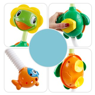 Baby Kid Bathing Toy Little Turtle Water-spraying Shower Head Water Toy