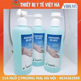Dung dịch rửa tay khô sát khuẩn Anios Gel 500ml pháp
