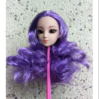Đầu kexin tóc màu tím