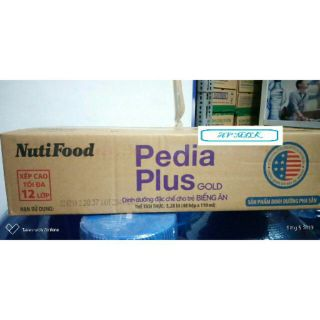 Thùng 48 hộp sữa Pedia Plus Gold 110ml