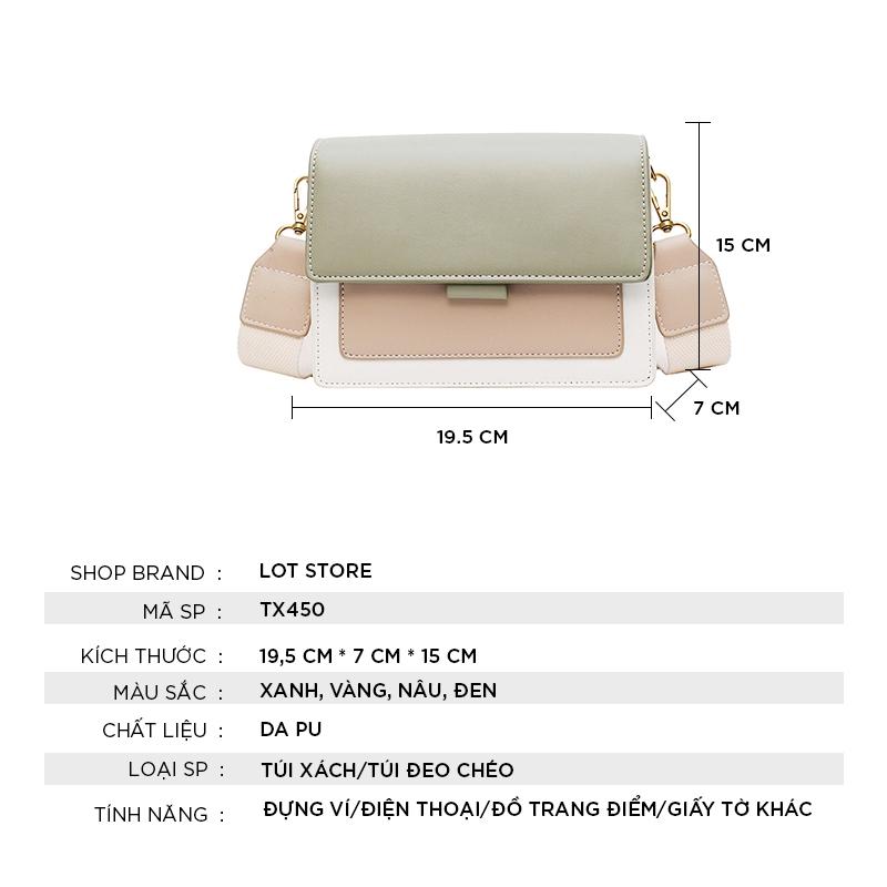 Túi xách nữ cao cấp đeo chéo đẹp giá rẻ thời trang TX450