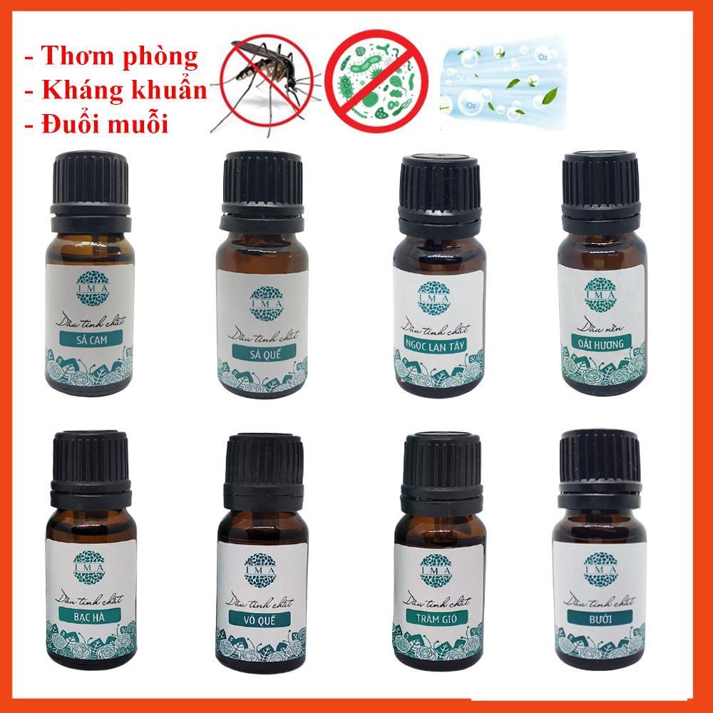 Tinh dầu IMA nguyên chất có kiểm định nhiều mùi 10ml