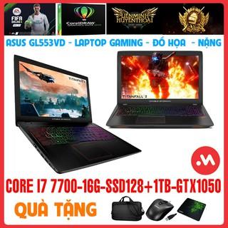 LAPTOP GAMING ASUS GL553VD I7 7700HQ, Laptop Cũ Gaming Đồ Họa Nặng - Hàng nhập khẩu USA thumbnail