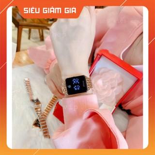 {HOT}Đồng hồ iphone màn hình CẢM ỨNG điện tử quai hợp kim không rỉ pin siêu bền thời thượng