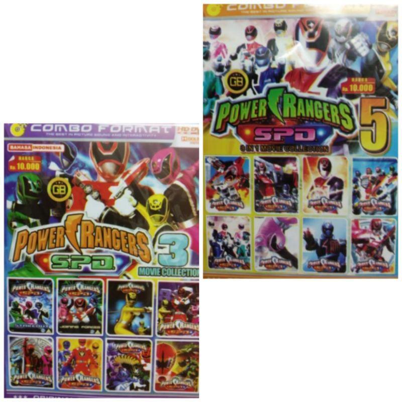 Mô Hình Đồ Chơi Nhân Vật Siêu Nhân Power Ranger Spd