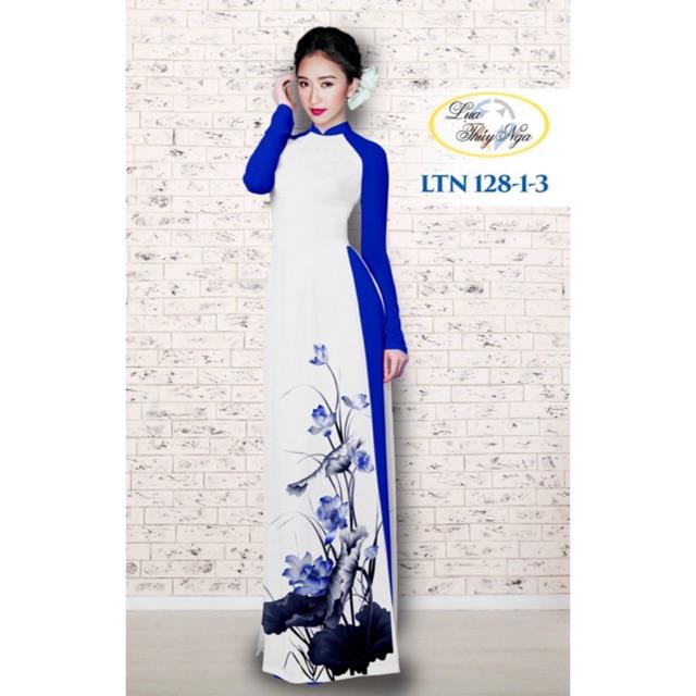 Vải áo dài hoa sen - 9924604 , 672111181 , 322_672111181 , 240000 , Vai-ao-dai-hoa-sen-322_672111181 , shopee.vn , Vải áo dài hoa sen