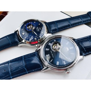 Đồng hồ cặp Orient - Máy Automatic - Kính tráng Sapphire - Dây da thumbnail