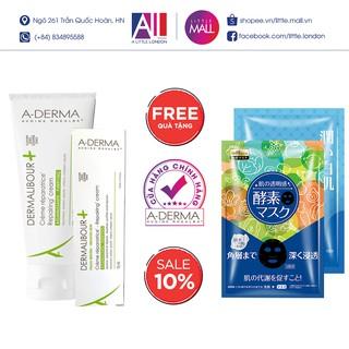 Kem làm dịu, phục hồi da kích ứng A-Derma Dermalibour+ Repairing Cream TẶNG mặt nạ Sexylook (Nhập khẩu) thumbnail