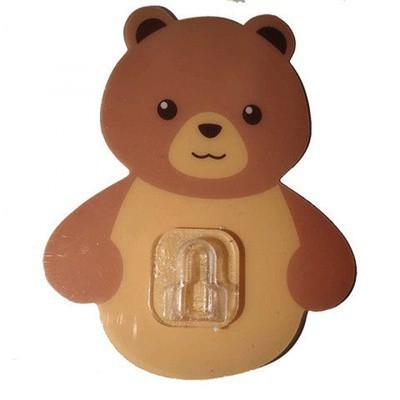 Cốc gấu đựng bàn chải kem đánh răng Cốc gấu dán tường siêu dính 88183 SHOP HOÀNG XUÂN