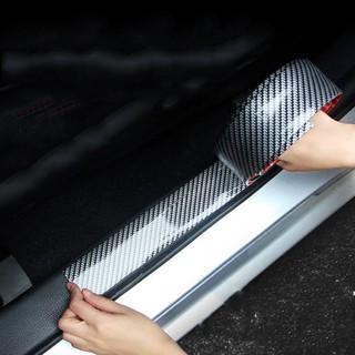 [Freeship đơn 250k] Nẹp chống xước bước chân cửa xe mạ cacbon cao cấp thumbnail