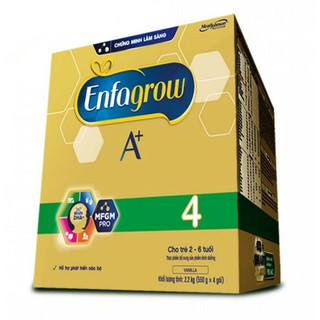(date 2/2022)sữa bột Enfagrow BIB A+ 4 BIB 2.2kg