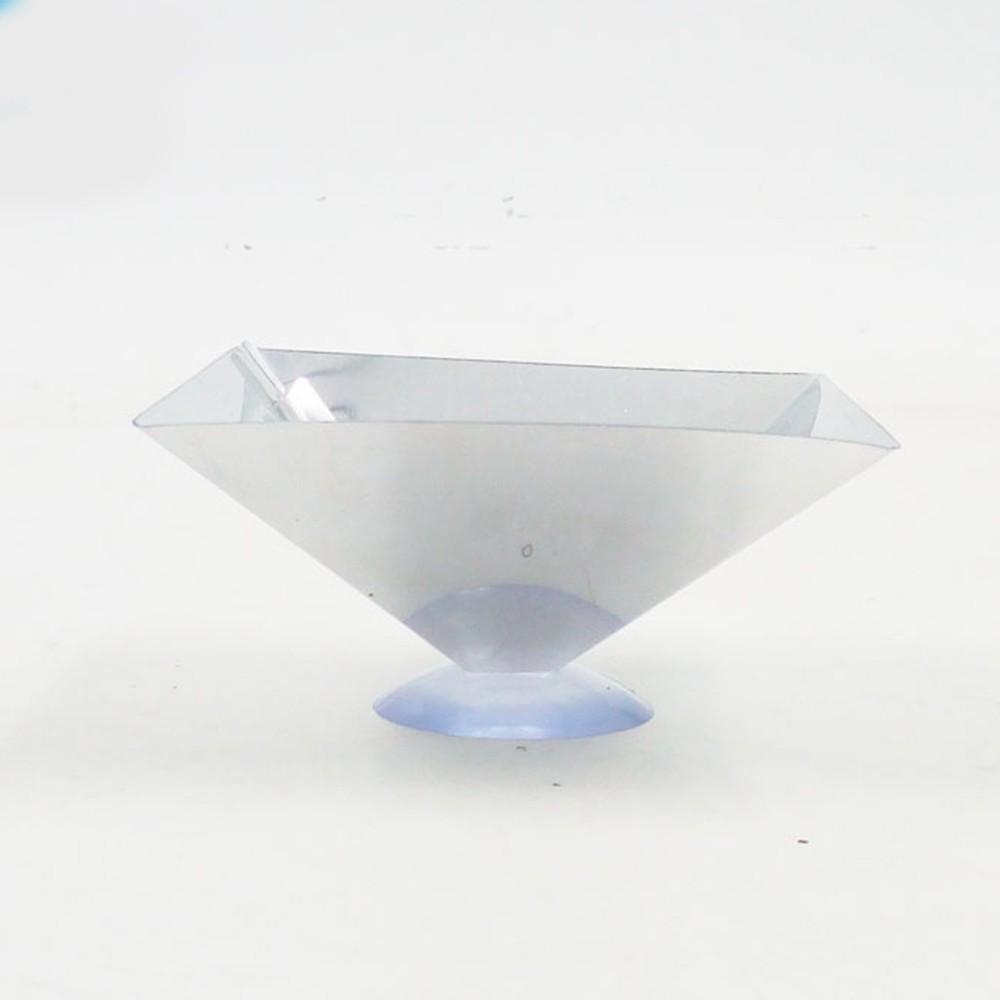 Máy chiếu Hologram hình kim tự tháp 3D thông dụng cho điện thoại