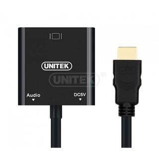CÁP CHUYỂN HDMI SANG VGA + AUDIO UNITEK (Y - 6333)