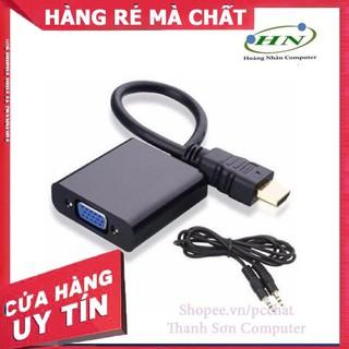 [Mã PC10K20X hoàn đến10K xu] CÁP HDMI RA VGA CÓ/KHÔNG JACK AUDIO – Linh Kiện Phụ Kiện PC Laptop Thanh Sơn