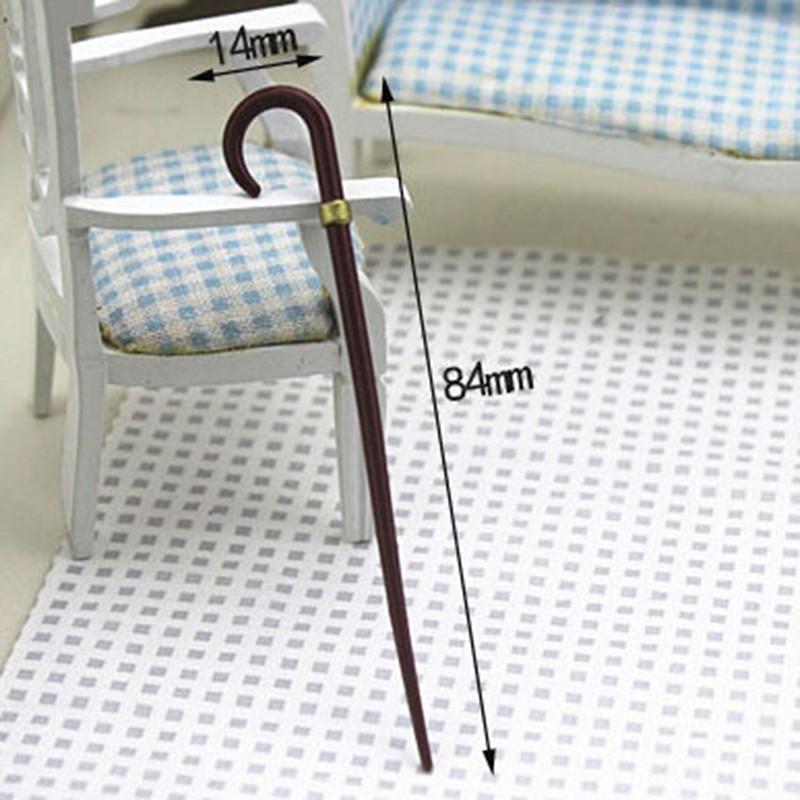 ★ƯU ĐÃI ★1/12 Dollhouse Miniature Accessories Mini Vintage Simulation Crutch Model Toy