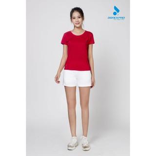 Áo thun thể thao nữ DONEXPRO 3384 màu đỏ thumbnail