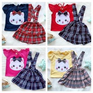 Bộ mô hình nhân vật Kafis SHOP chất lượng cao Bộ quần áo thời trang cho bé gái Quần áo cho bé gái Bộ quần áo thời trang xinh xắn cho bé Quần áo trẻ em thumbnail