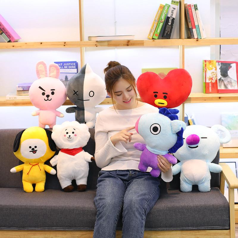 BTS21 Plush Toy SHOOKY TATA Pillow Stuffed Doll Sofa Cushion
