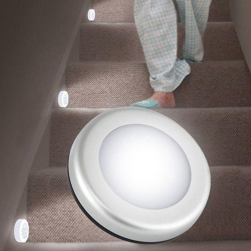 Đèn LED 3 bóng không dây chiếu sáng ban đêm