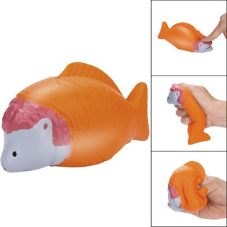 Squishy Cartoon Mouse Fish Squishy Slow Rising Squeeze Toys Jumbo Collection mã sp YC8859