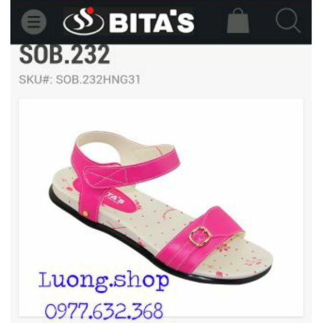 Sandal Bitas bé gái SOB232 hồng, vàng