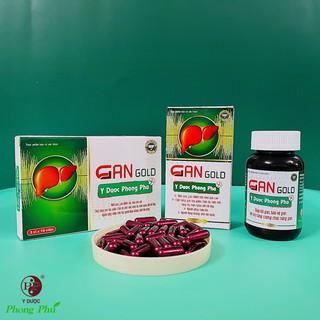 GAN GOLD YDUOCPHONGPHU hỗ trợ tăng cường chức năng gan, bổ gan, bảo vệ gan thumbnail