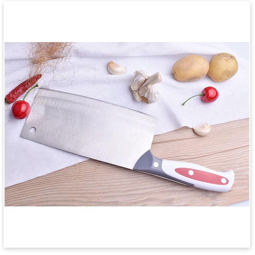 Dao nhà bếp BH 1 THÁNG   Dao chặt xương bằng thép siêu bén - Dụng cụ nhà bếp tiện lợi 4633