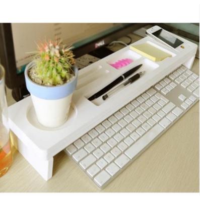 Desktop Organizer Rack Holder Computer Desk Tray Shelf Giá chỉ 153.000₫