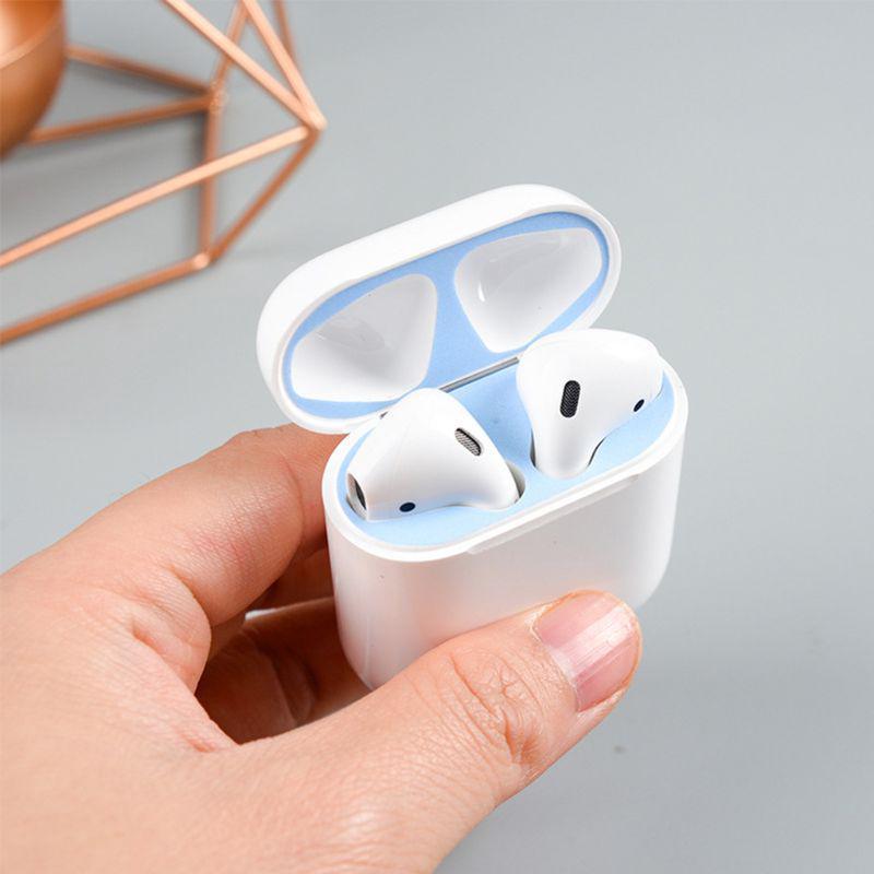 6 cặp nút chống bụi cho tai nghe Apple Airpods