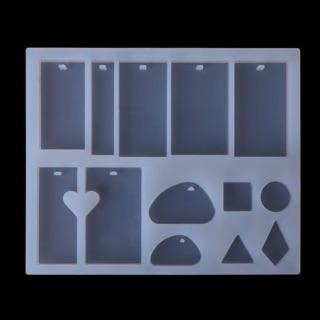 Khuôn silicon trang trí resin nhiều shape