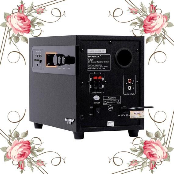 (Sốc Cực Sốc) Sản phẩm Loa Vi Tính SoundMax A-920 2.1 30W Giá chỉ 845.000₫